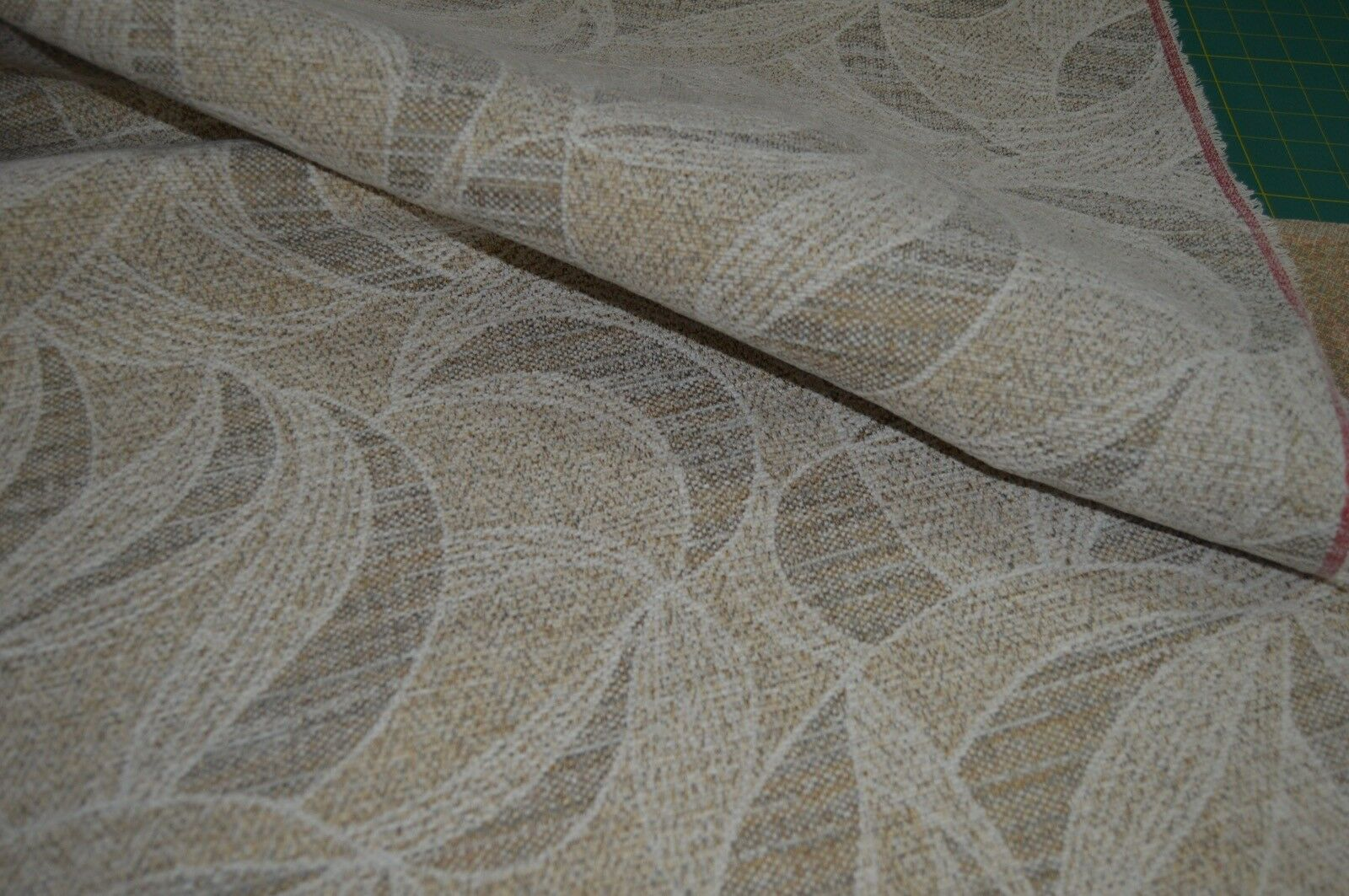 beige grey cream chenille upholstery fabric robust durable ...